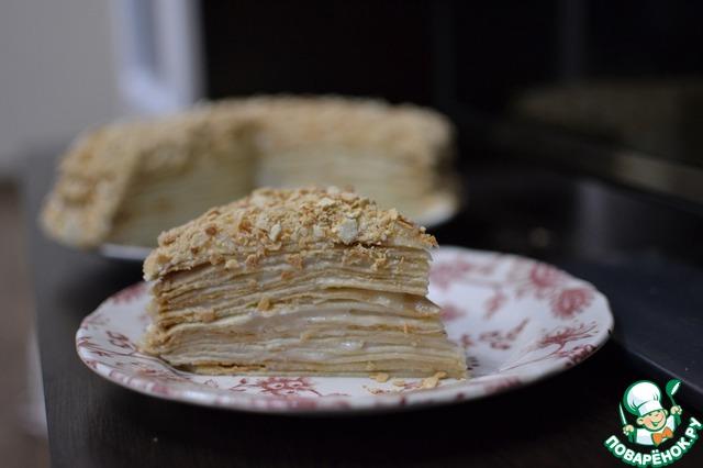 торт наполеон рецепт поваренок ру