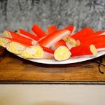 Крабовые рулетики с сыром
