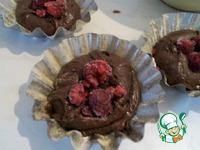 Супер шоколадные кексы с малиновой начинкой ингредиенты