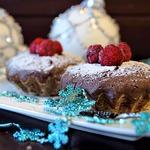 Супер шоколадные кексы с малиновой начинкой