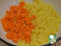 """Салат """"Оливье"""" с копченой скумбрией ингредиенты"""