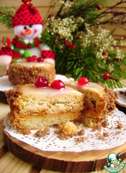 Песочное пирожное «Таежная недотрога»