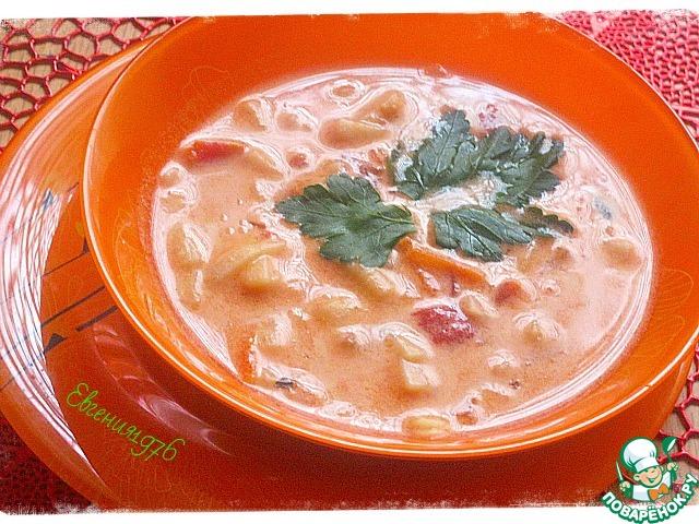 очень вкусный суп на курином бульоне рецепт