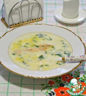 Creamy soup for cold days