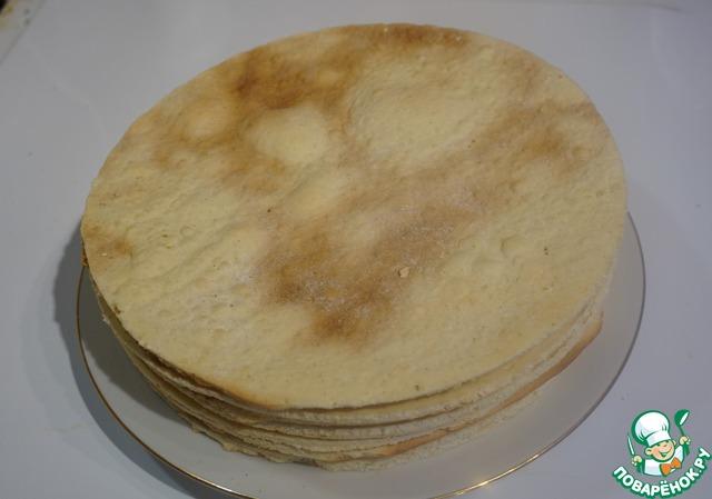 Медовый тортик без мёда
