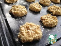 Овсяное печенье с мёдом ингредиенты