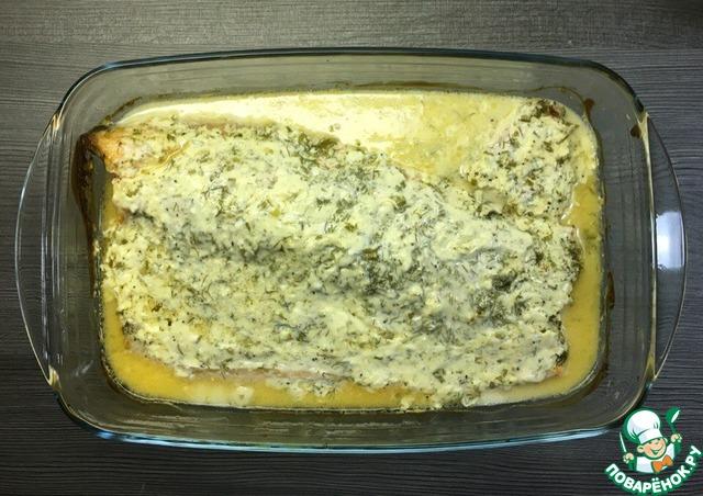 форель в духовке под соусом рецепты