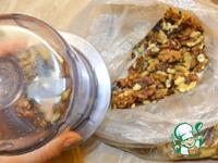 Поджарка мясная с тыквой и орехами ингредиенты