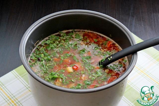 Суп с фасолью классический рецепт с фото