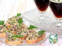 Бутерброды с селедочной quot;икройquot; под пиво ингредиенты