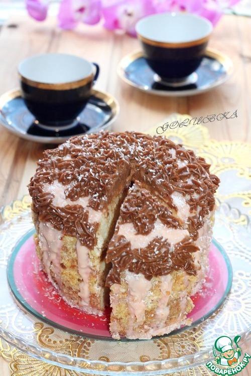 Торт белые ночи рецепт