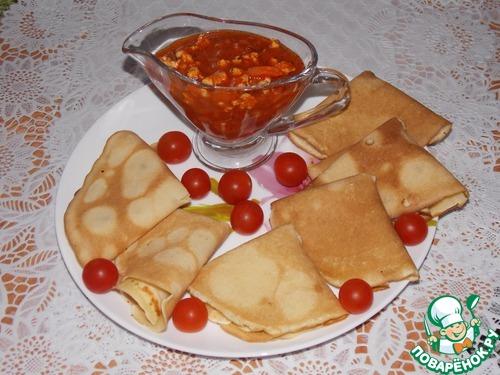 Соусы блинов рецепты фото