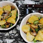 Салат из огурцов и шампиньонов
