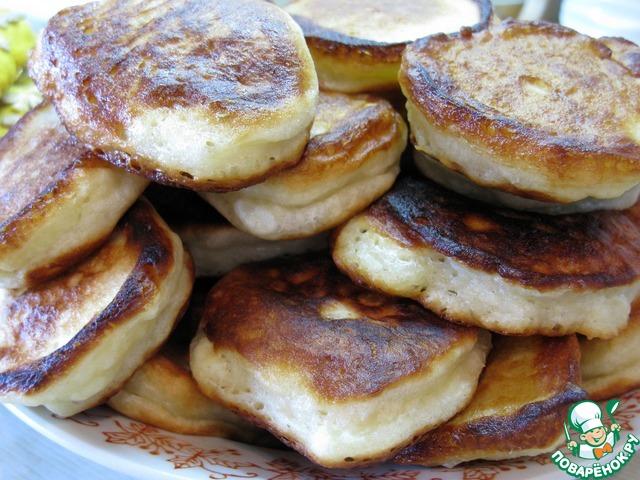 Оладушки из кабачков пышные рецепт с фото