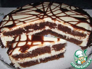 Торт День и Ночь