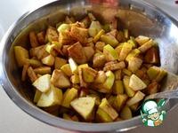 Нежный яблочный кекс ингредиенты