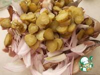 Салат с языком и вешенками ингредиенты