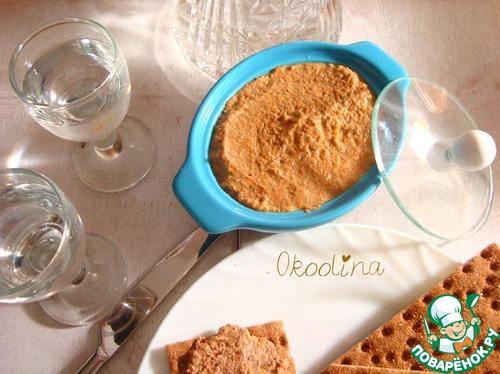 Печеночный паштет без масла рецепт