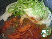 Острый салат из тыквы с овощами ингредиенты