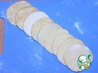 Пирожки с печенью, овощами и яйцом ингредиенты