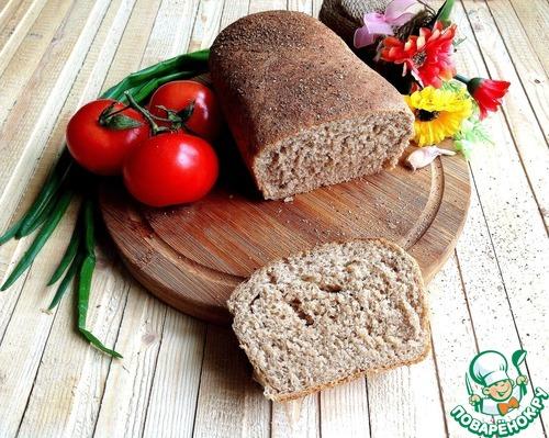 Ржаной хлеб кирпич рецепт
