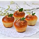 Сдобные булочки на сливках со штрейзелем