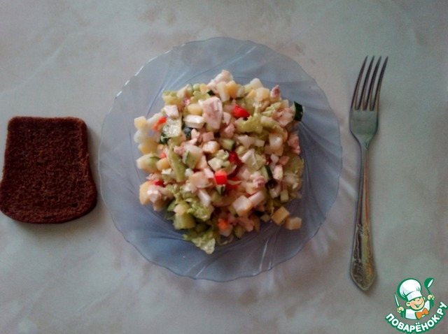 Рецепты салатов несложные