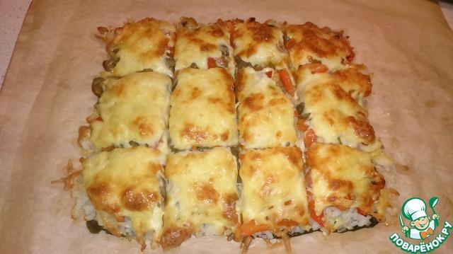 пицца ролл рецепт с фото