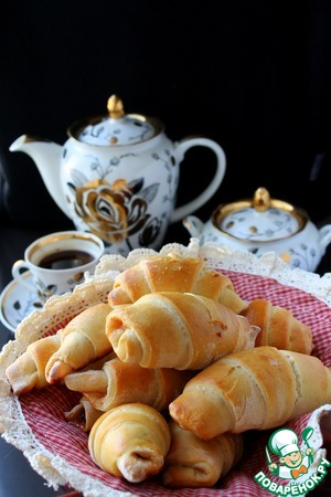 Рецепт: Чешские рогалики