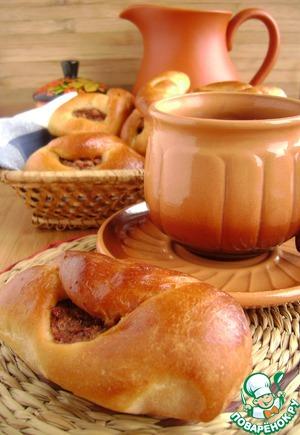 рецепт пирожков из сушеных яблок