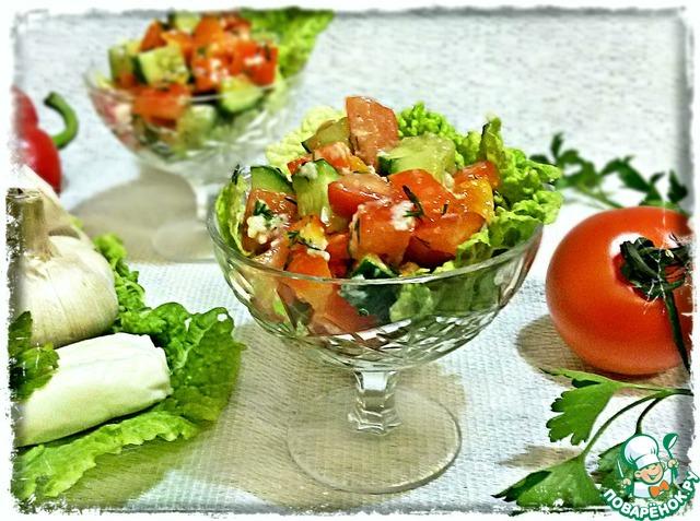 Салат с форелью рецепт очень вкусный с