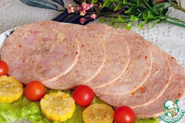 колбаса в ветчиннице рецепты с фото