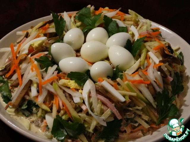 Салат ласточка рецепт с 125