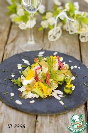 салат амелия рецепт с курицей