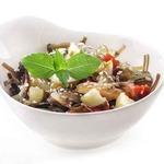 Тушеные овощи с морской капустой