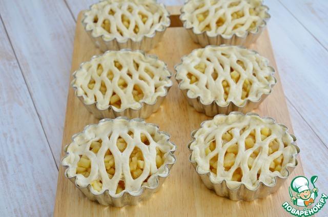резанные яблоки в духовке рецепт с фото