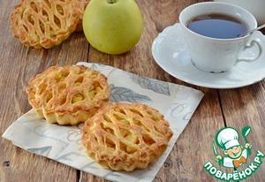 "Пироги ""Корзиночки"" с яблоками"