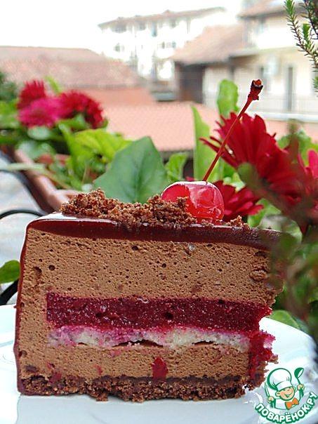 """Торт """"Красное и Черное"""""""