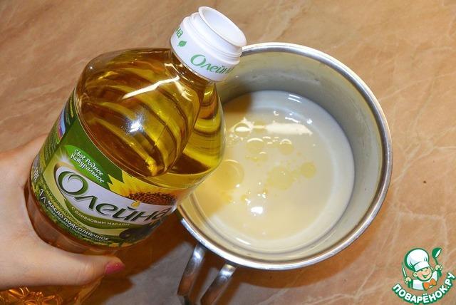 Рецепт блинов растительное масло