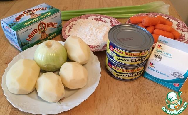 Суп крем чаудер рецепт