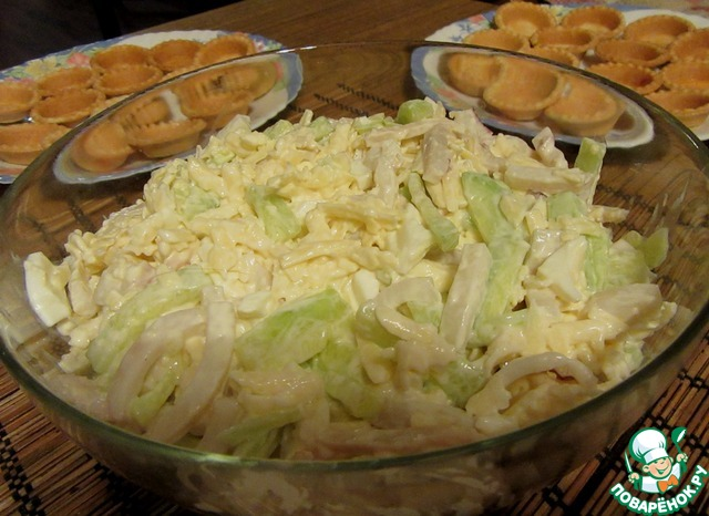Рецепты салата с консервой сардина