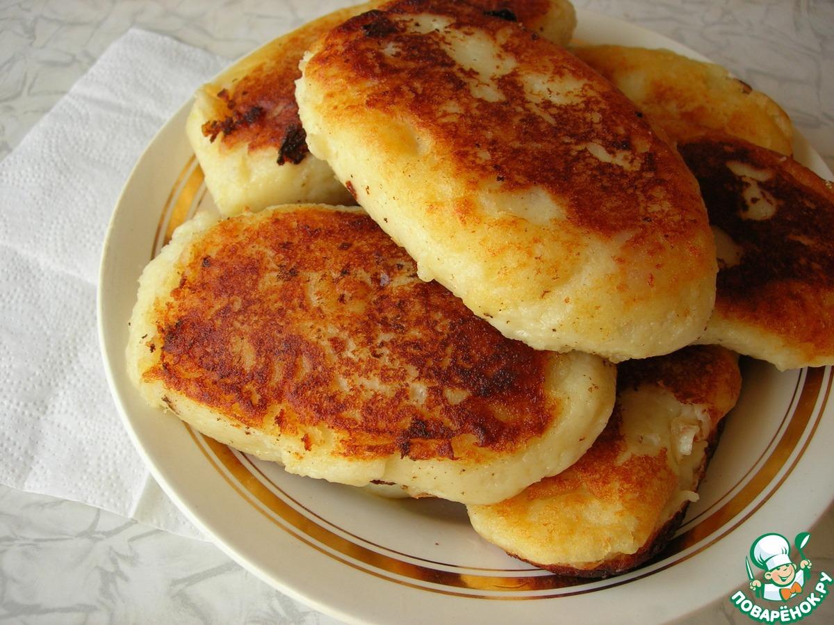 Пирожки из картофельного пюре рецепт пошагово