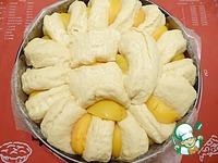 Пирог с персиками ингредиенты