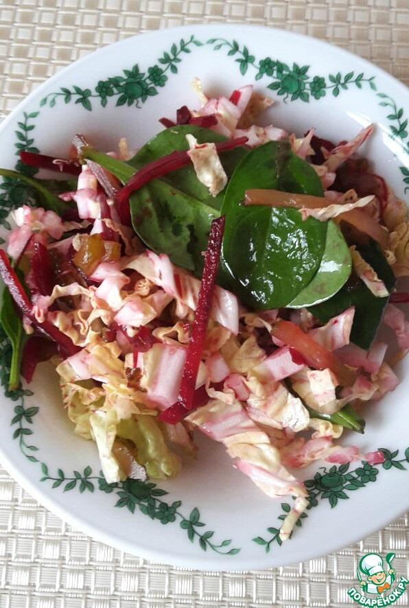 рецепты салатов из капусты китайской