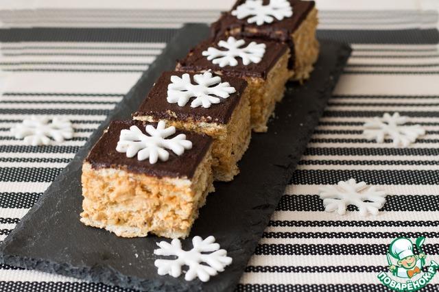Бисквитное пирожное с сливочным кремом рецепт 5