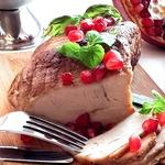 Гранатово-чесночная свинина к празднику