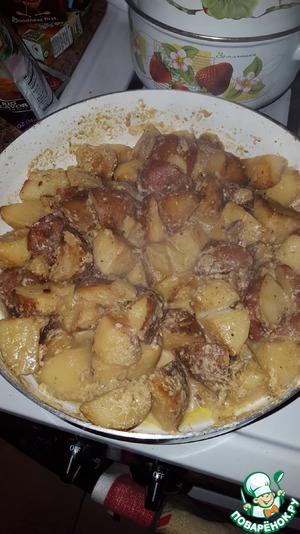 Картофель на молоке quot;От Лёнчикаquot;