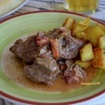 Томленое мясо по-бельгийски