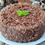 Шоколадно-вишневый торт-мусс