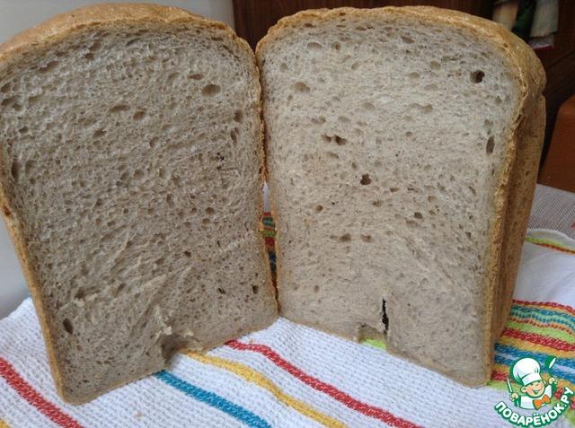 Как сделать хлеб на закваске в хлебопечке